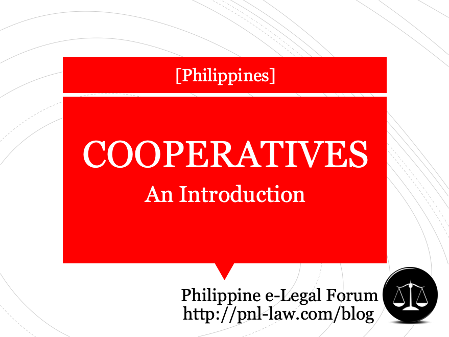 Introduction to Cooperatives in the Philippines