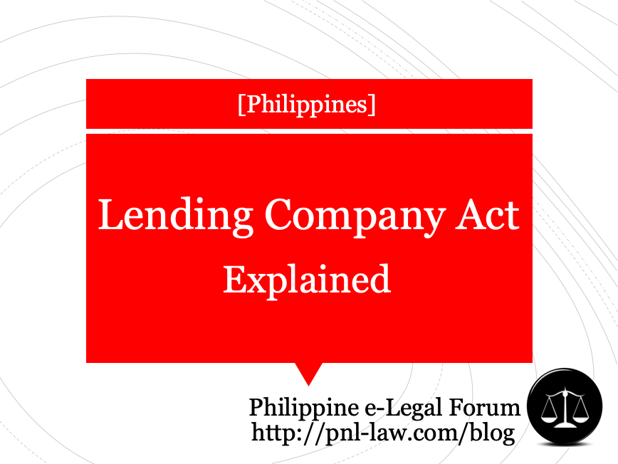 Lending Company Act: Explained