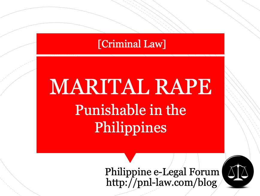 Marital Rape in the Philippines