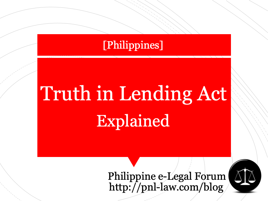 Truth in Lending Act, Explained